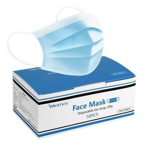 3-Ply Face Mask, Disposable