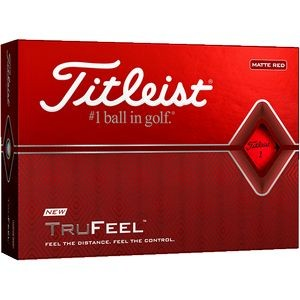 Titleist� TruFeel� Golf Ball - Matte Red (IN HOUSE)