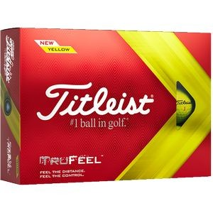 Titleist� TruFeel� Golf Ball - Yellow (IN HOUSE)